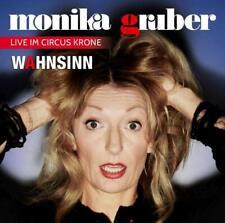 CD * MONIKA GRUBER - WAHNSINN ! - Live im Circus Krone 2019 # NEU OVP %