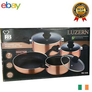Renberg RB-1225 7-Piece Utensil Set -  Pots & Pans Pan Sets
