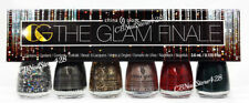 China Glaze Nail Lacquer MINI - THE GLAM FINALE - 6 Colors x 0.125oz