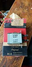NOS RCA  Dual 0.5mfd 400v  Paper In Oil Capacitor  In Original Box  Guaranteed