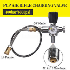 6000psi PCP Air Rifle Charging Valve Air Filling Station Refill Adaptor M18x1.5