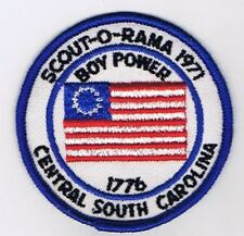 Activity Patch Scout-O-Rama 1971 Central South Carolina 702959