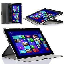 For Microsoft Surface Pro 3 Tablet Slim Case Shell Stand Cover Keyboard Holder