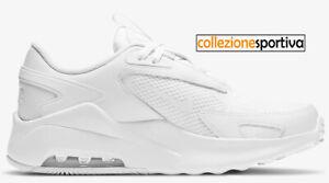 SCARPE UOMO/DONNA NIKE AIR MAX BOLT (GS) - CW1626-104 col. bianco/bianco