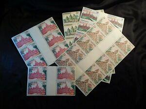 Dealer Lot CAMBODIA Pairs and Sheets Stamp Set Scott 172-175 MNH CV49