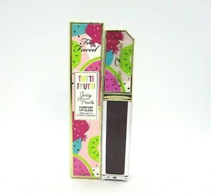 Too Faced Tutti Frutti Juicy Fruits Comfort Lip Glaze ~ Who Gives A Fig? ~ 7 ml