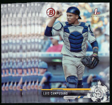 (10) 2017 Bowman Draft LUIS CAMPUSANO Lot Padres #BD-46 QTY Available