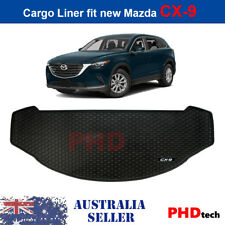 Mazda CX-9 16-onwards Tailor Made All Weather Rubber Car Cargo Mat Liner