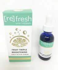 Refresh Skin Therapy - Fruit Triple-Brightening Daily Active Serum 1 Fl Oz