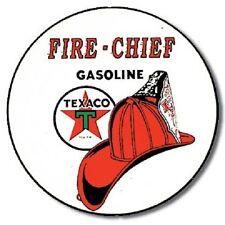 Texaco Fire Chief Gasoline Motor Oil Retro Vintage Wall Decor Metal Tin Sign New