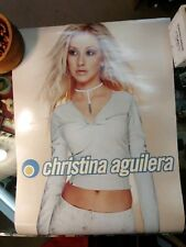 Christina Aguilera - My Kind of Christmas - Two Sided Promo Poster ,2000