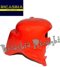 7759 - CUFFIA MOTORE IN PLASTICA ROSSA VESPA 125 150 200 PX - ARCOBALENO - DISCO