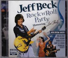 JEFF BECK ROCK N ROLL PARTY CD Honoring Les Paul Gary U.S. Bonds Brian Setzer
