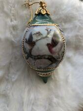 Lena Liu Porcelain Birds Natures Poetry Ornament