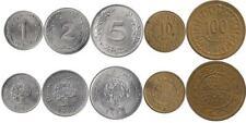 Tunesien 1, 2, 5, 10, 100 Millimes 1960