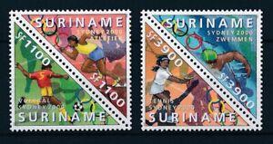 [SU1075] Suriname Surinam 2000 Olympic Games Sydney Triangles  MNH