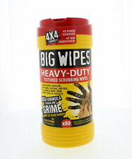"Big Wipes 60020046 ""Red Top"" Heavy Duty Industrial Textured Scrubbing Wipes, 80"