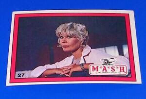 1982 Donruss MASH TV Show Card #27 4077th