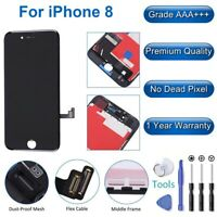 Black LCD Touch Screen Digitizer Replacement Assembly for iPhone 8 A1863 A1905