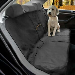 "KURGO WANDER DOG BENCH SEAT COVER CHARCOAL 55"" WIDTH WATERPROOF RRP £49"