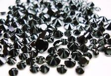 2.50 mm Real Natural Black Diamond Round 1st Grade Loose Diamonds 10 PC