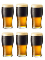 ATLANTA 460ml Pint LARGE HALF PINT beer glasses box of 6