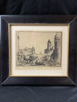 """Original Etching by Don Swann Limited Edition Signed & Numbered """"Penn Ave"""""""