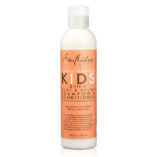 Shea Moisture Coconut Hibiscus Kids 2 in 1 Curl & Shine Shampoo Conditioner 8oz