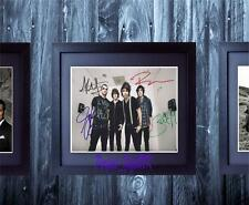 All Time low Band SIGNED AUTOGRAPHED FRAMED 10x8 REPRO PHOTO PRINT Alex Gaskarth