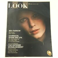 Look Magazine August 26 1969 Mia Farrow Cover, John F Kennedy Feature, Newsstand