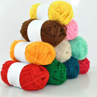 25g/Ball 4 Ply Cotton Wool Yarnds Hand Knitting Scarf Sweater Yarns DIY Crafts