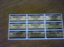 9 (Nine) True Temper Dynamic Gold Lite S300 Golf Club Shaft Band Labels