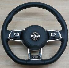 VW Golf 7 MK7 GTD Multi volante con spostamento pagaie & AIRBAG OEM 5G0880201AC