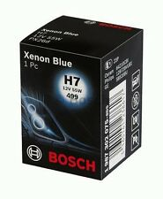 P 2 x BOSCH 1987302075 H7 12V/55W XENON BLUE Halogen Lamp Light PX26d