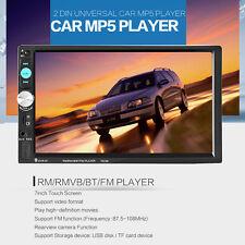 """7 """" pollici Doppio 2DIN HD BLUETOOTH TOUCH MP5 LETTORE USB FM AUX IN MP3 7 """"##"""