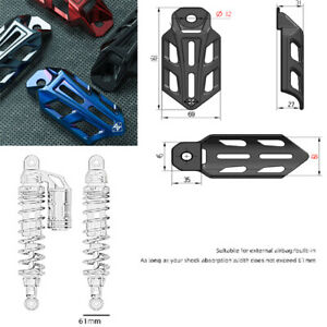 Aluminum Alloy Motorcycle Shock Absorber Protection Cover Guards Case ATV CNC