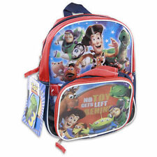 """Backpack 10.5"""" + Detachable Lunch Bag Utility Case No Toys Left Behind New"""