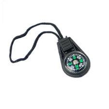 10pcs Zipper Pull Mini Compass Backpack Bag Strap Charm Sport