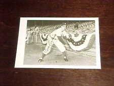 1953 Brooklyn Dodgers Signed Carl Erskine Baseball Postcard Dated Postmarked