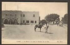 GABES (TUNISIE) Attelage à la MAISON DU CAID en 1915