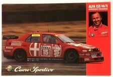 Cartonicino ALFA 155 V6 TI Auto - Giorgio Francia Cuore Sportivo