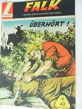 1 x  Comic - Falk - Band 42 - Zustand 1-2 - mit Sammelmarke - Lehning