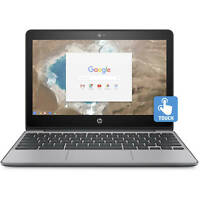HP Chromebook 11 Intel N3060 4GB 16GB 11.6-inch HD Touchscreen 802.11AC Laptop