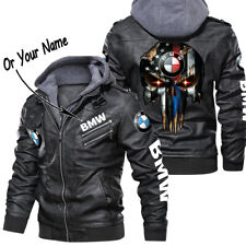 BMW - Poly Synthetic Leather Jacket, BEST GIFT, NEW JACKET