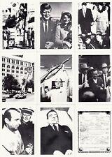 JFK JOHN F. KENNEDY ASSASSINATION 1991 FREEDOM PRESS FAC. BASE CARD SET OF 40 MS