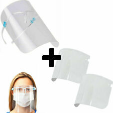 Dispositivo occhiali protettivi+3x protezione visiera occhi medici dentisti GLX