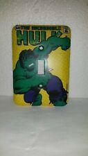 Incredible Hulk Metal Single Gang Switch Plate