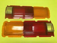 Datsun 510 SSS Bluebird Rear Tail light Lens Set 26521-A2200 Genuine NOS