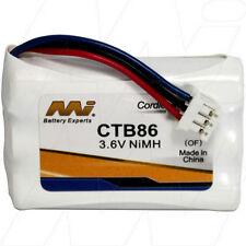 CTB86 3.6V NiMH Cordless Phone Battery