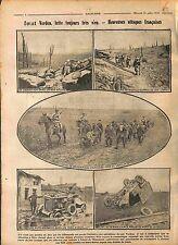 Patrouille Poilus Bataille de Verdun Auto-Magneto Ambulance  1916 WWI
